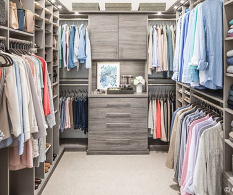 Closet Solutions custom closets