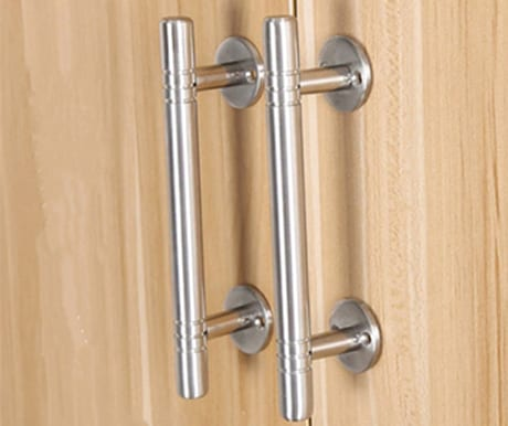 Closet Solutions custom hardware