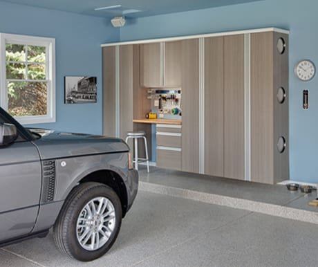 Closet Solutions custom garages