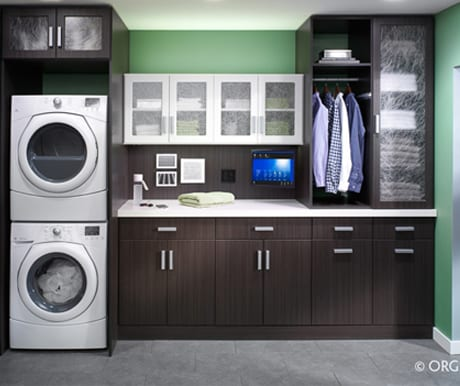 Closet Solutions custom laundry rooms