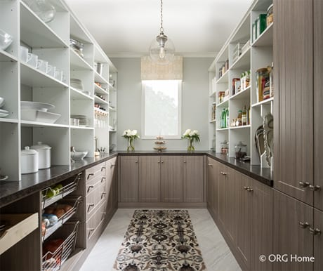 Closet Solutions custom pantries